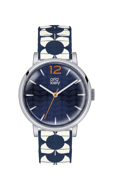 Orla Kiely Damen-Armbanduhr OK4057