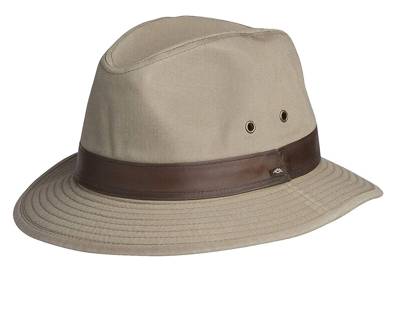 e666a8a8168403 Conner Hats Men's Larimer Cotton Safari Hat at Amazon Men's Clothing store: