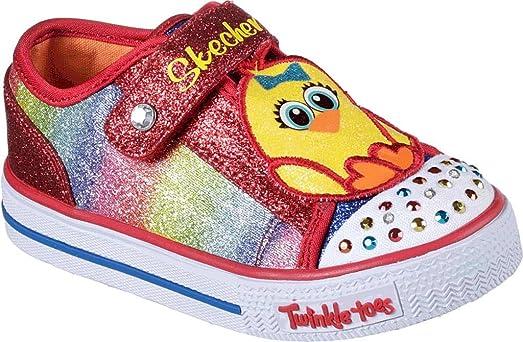 Billig Verkauf Besuch Bester Shop Zum Kauf Infant/Toddler Girls Twinkle Toes Shuffles Chickadee Light Up Sneaker Skechers PTpNA