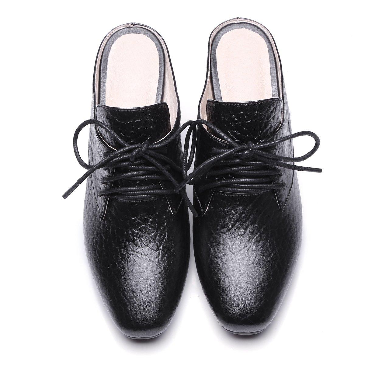 Qingchunhuangtang@ Frühling mit und Sommer Sandalen mit Frühling groben Kreuzbänder, reine Baotou Schuhe Hausschuhe schwarz 6fdf62
