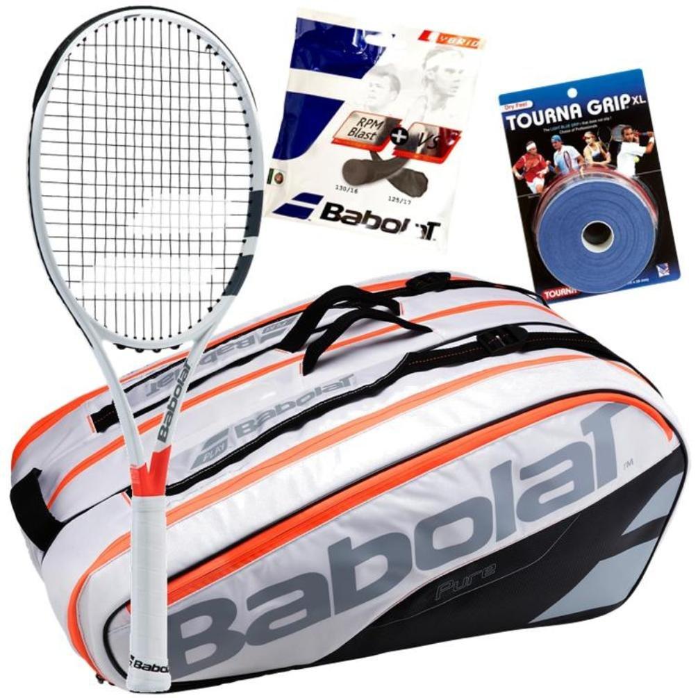 Dominic Thiem Pro Playerバボラテニスギアバンドルパック B077T33LJB   4 1/8-Inch Grip