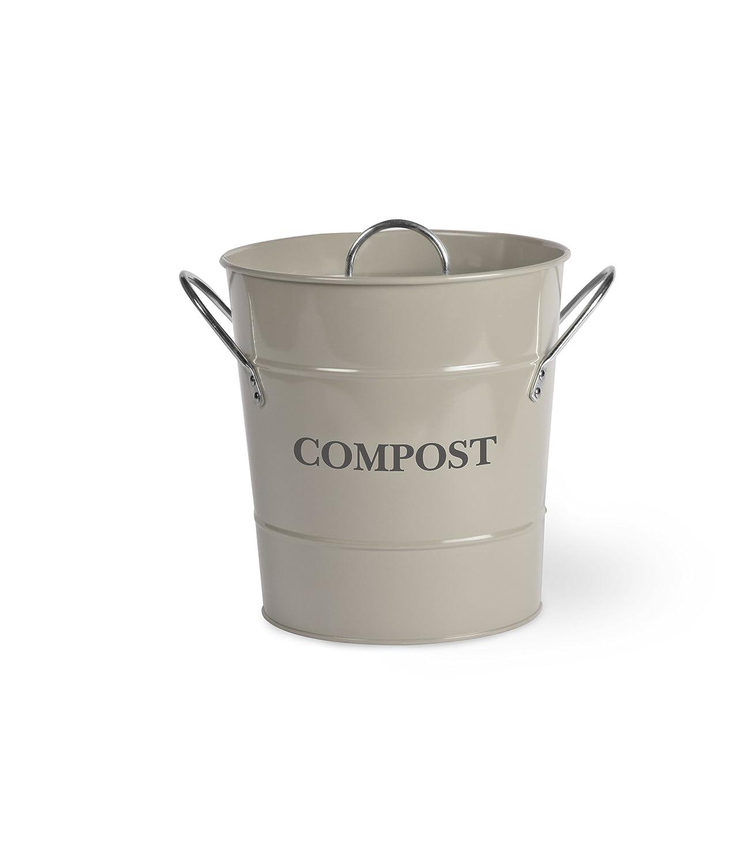 Garden Trading, Secchio per il compostaggio, Grigio (grau) Campeggio