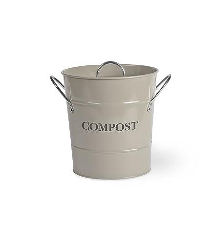 Küche Kompost Eimer - Clay: Amazon.de: Garten
