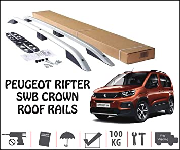 TURTLE Berlingo 2019 SWB Roof Rail Roof Rack Short Model