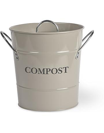 Garden Trading 0 - Compostador (cubo), color gris