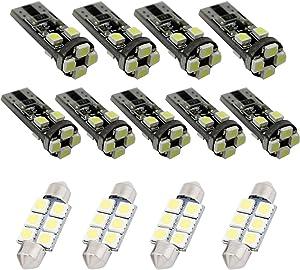 For Audi Q5 Led Interior Lights Led Interior Car Lights Bulbs Kit White 13pcs 2008-2018