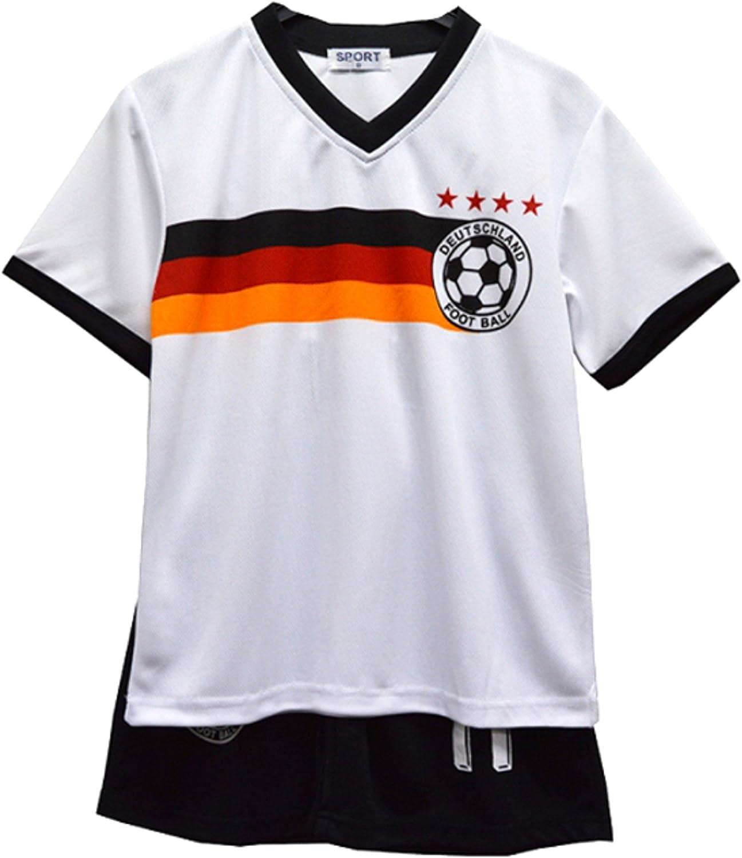 Default Football Summer Shorts Boys New Girls Top Vest Kit Set Size Age 2-14 Years BNWT