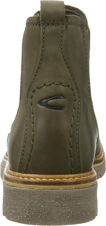 camel active Canberra 72, Bottes Chelsea Femme Vert Olive 1