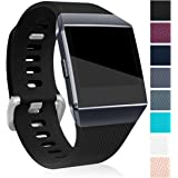 Maledan Replacement Bands Compatible for Fitbit Ionic, Classic Replacement Accessory Wristbands Compatible with Fitbit…