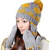 Generic - Ensemble bonnet, écharpe et gants - Femme