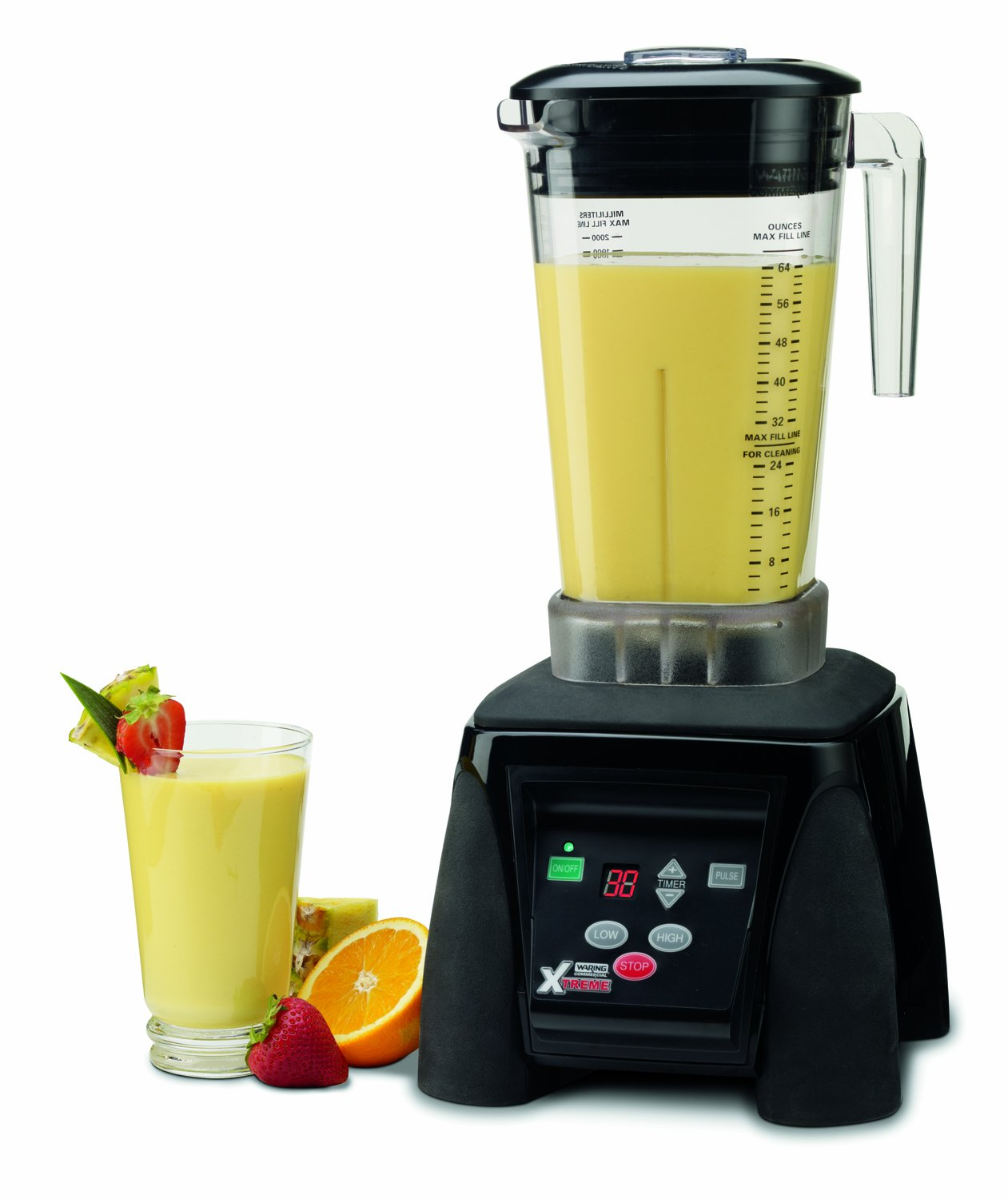 64-Ounce Waring Commercial Inc. Waring Commercial MX1100XTX Hi-Power Electronic Keypad Blender with Timer and The Raptor Copolyester Container Kitchen