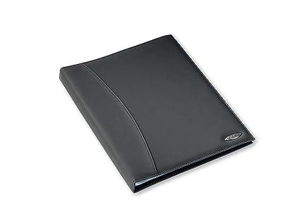 Rexel Soft Touch Smooth - Archivador con 24 fundas plásticas (A4, brillantes), color negro: Amazon.es: Oficina y papelería