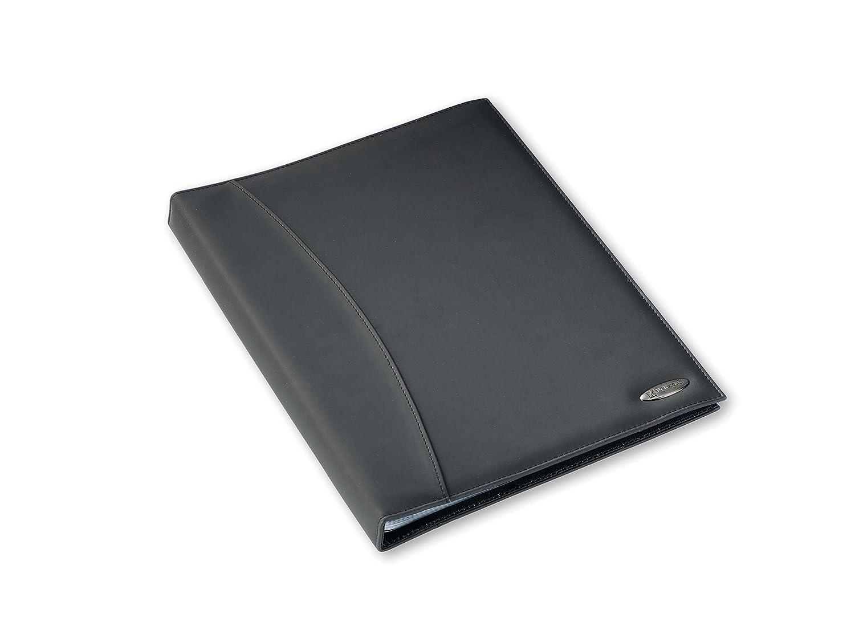 Rexel Soft Archivador Touch Smooth - Archivador Soft con 24 fundas plásticas (A4, brillantes), color negro 4507b7