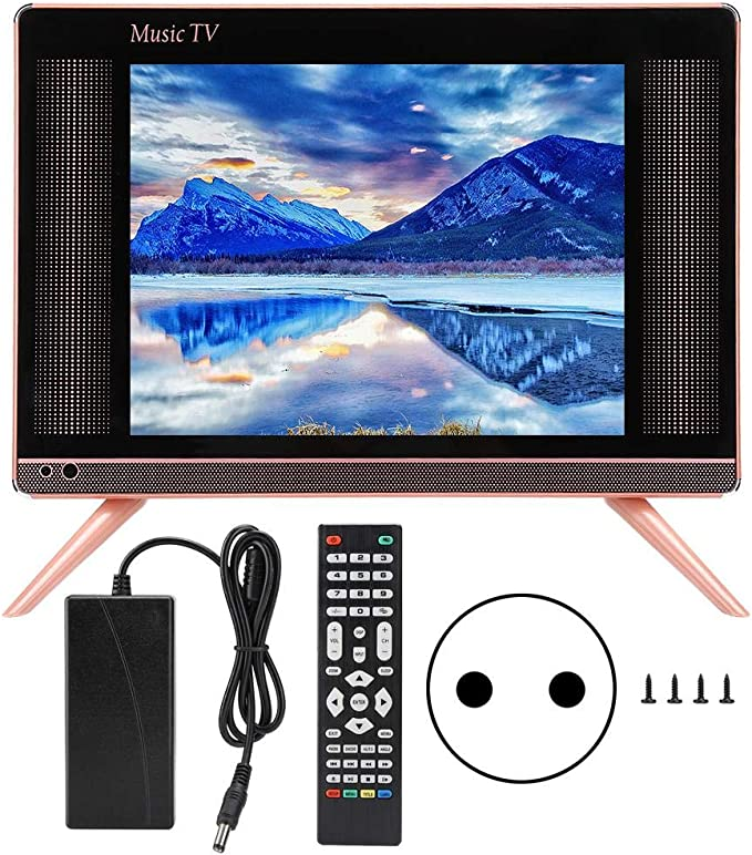 Garsent Mini Televisores, 17 Pulgadas 1080P TV LCD HD Mini ...