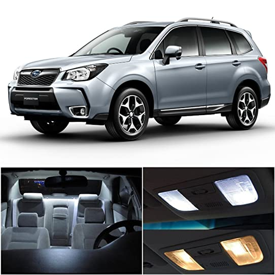 2015 subaru forester interior. ledpartsnow 20152017 subaru forester led interior lights accessories replacement package kit 8 pieces 2015
