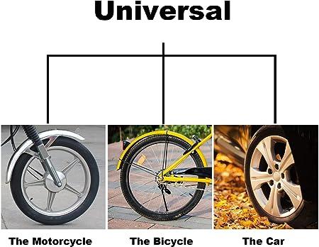 in plastica HonLena coprivalvola per pneumatici camion colore: nero moto bicicletta con anello di tenuta per SUV