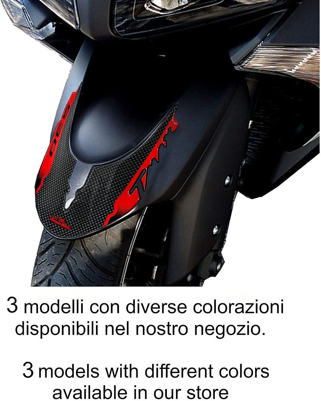 Oro Adesivo 3d Protezione Parafango Compatibile Con Tmax 2012-2014