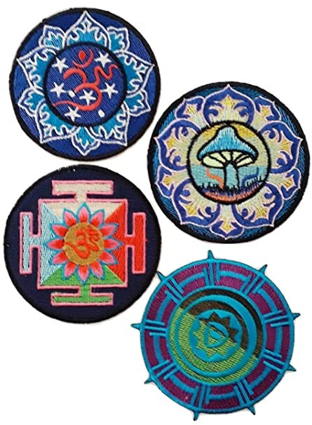 b2see Parche para Insignia Zen Buda Yoga Plenitud, Hippie ...