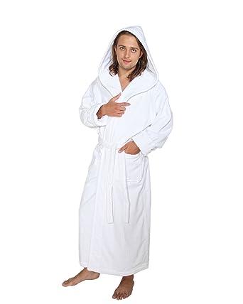 4af682cd7bbcd Arus Hood n Full Peignoir de bain en éponge à capuche extra-long ...