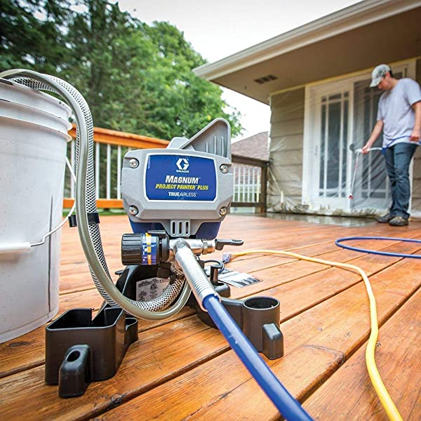 Types of Paint Sprayers: Airless paint sprayer