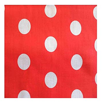 Childrens Kids Rétro Spots Pvc Vinyle Table Cloth Multi Polka Dots Blue White Red