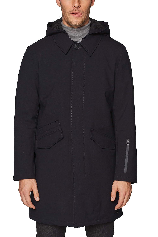 Esprit 098ee2g014 Abrigo, Azul (Navy 400), Medium (Talla del Fabricante: 48) para Hombre
