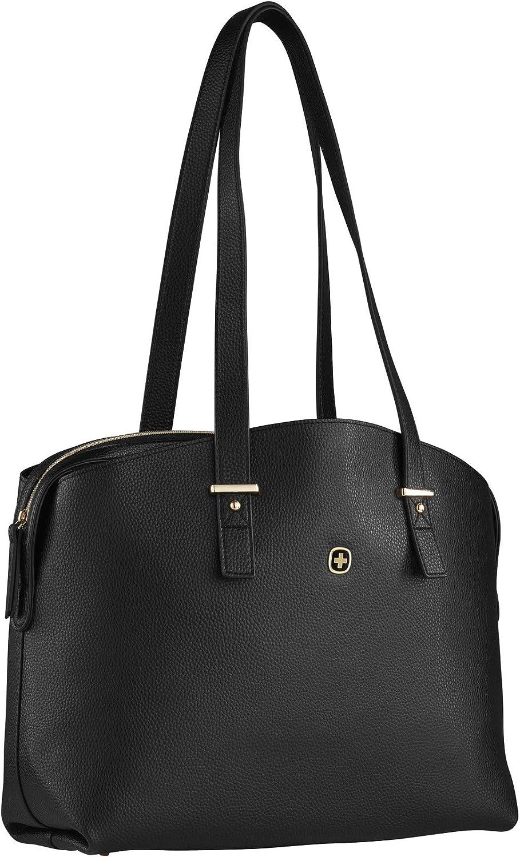 Wenger RosaElli, Black/Floral, 14 Inch Tote Bag