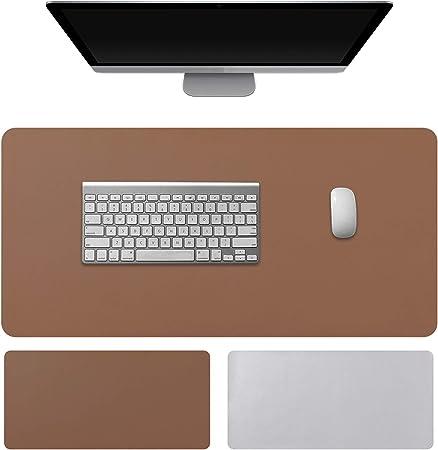 Kuao Schreibtischunterlage 70 35cm Mauspad Groß Braun Computer Zubehör
