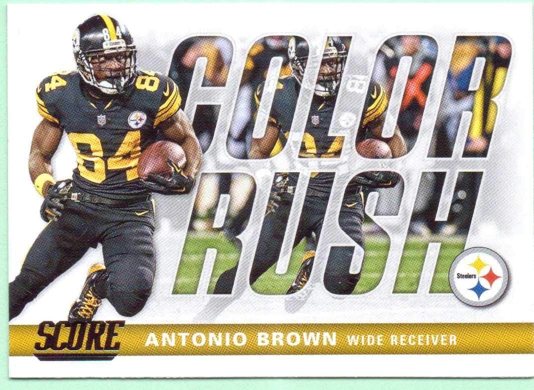 antonio brown color rush jersey