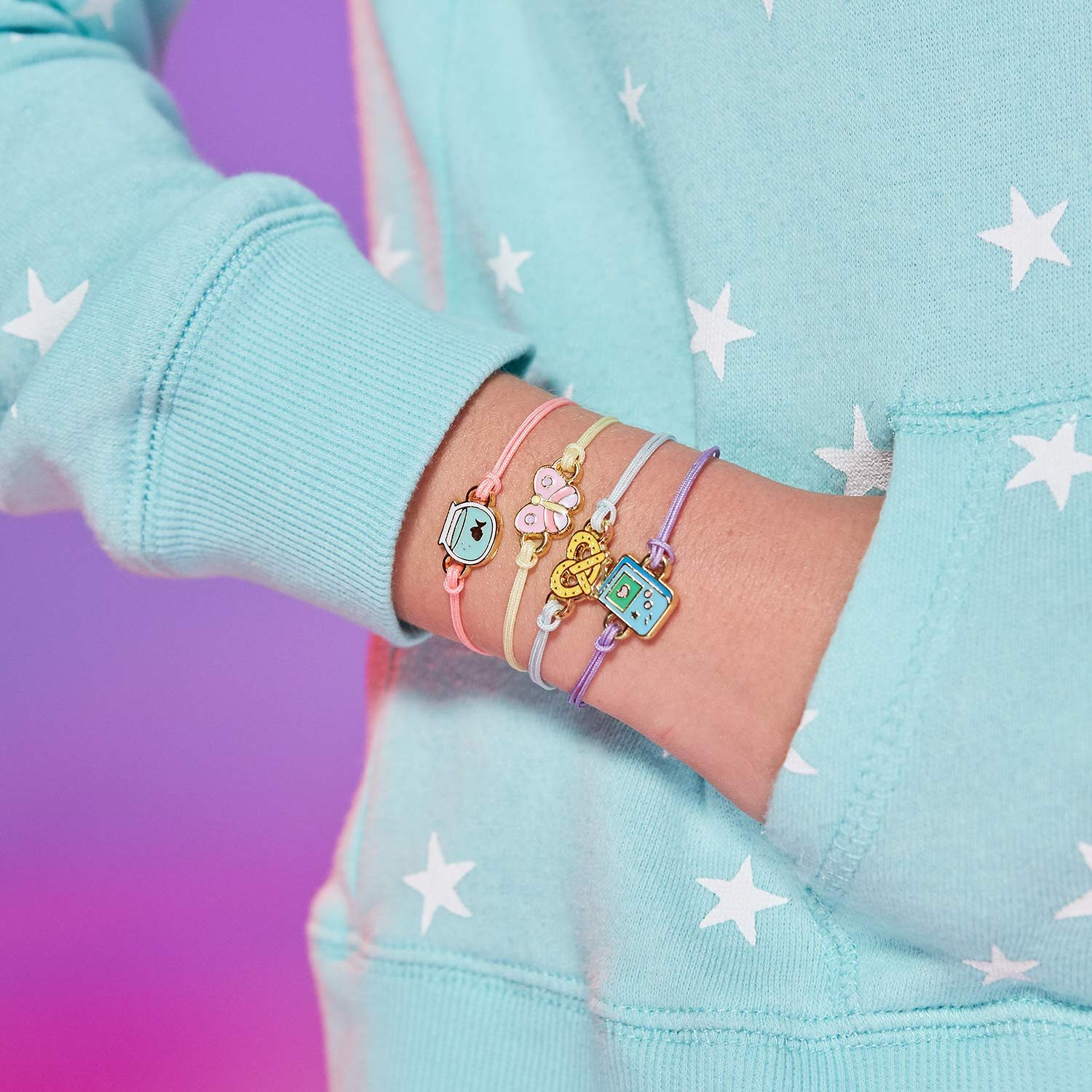 WowWee Lucky Fortune Blind Collectible Bracelets - 4 Pack Take-Out Box - Series 1 by WowWee (Image #4)