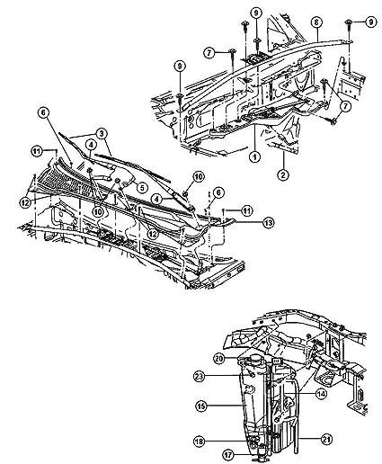 Amazon Com Mopar 6804 4499aa Windshield Wiper Arm Automotive