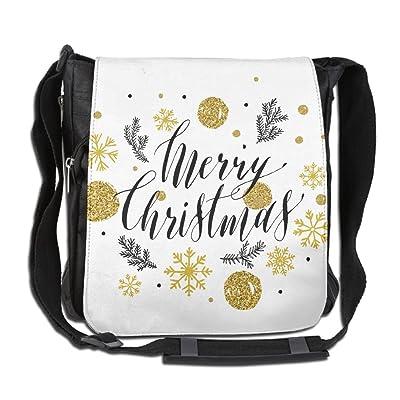 b2b5d3dd4a8d cheap Glitter Style Lettering For Christmas Custom Unisex Messenger ...