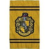 "Hufflepuff Stitch Crest -- Harry Potter -- Bath Towel (27"" x 52"")"