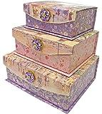 Punch Studio Paris Promenade Flap Trinket Nesting Boxes