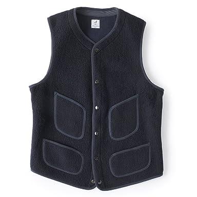 Anatomica BB Cloth Vest 530-452-07: Navy
