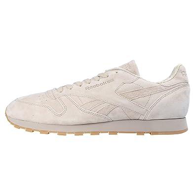 ee9d86f2d6726 Reebok Classic CL Leather TDC Men s Sneakers Beige