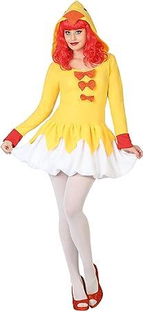 Atosa-26817 Disfraz Pollo, color amarillo, M-L (26817): Amazon.es ...