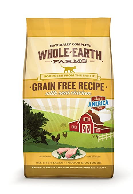 Amazon whole earth farms grain free recipe dry cat food whole earth farms grain free recipe dry cat food chicken 10 lb forumfinder Image collections