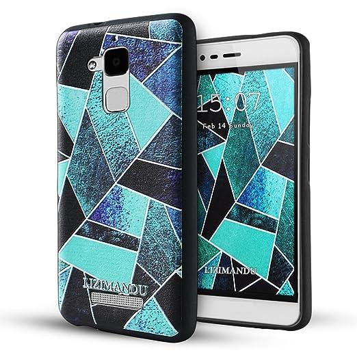 9 opinioni per Asus Zenfone 3 Max(ZC520TL)Cover,Lizimandu Creative 3D Schema UltraSlim TPU