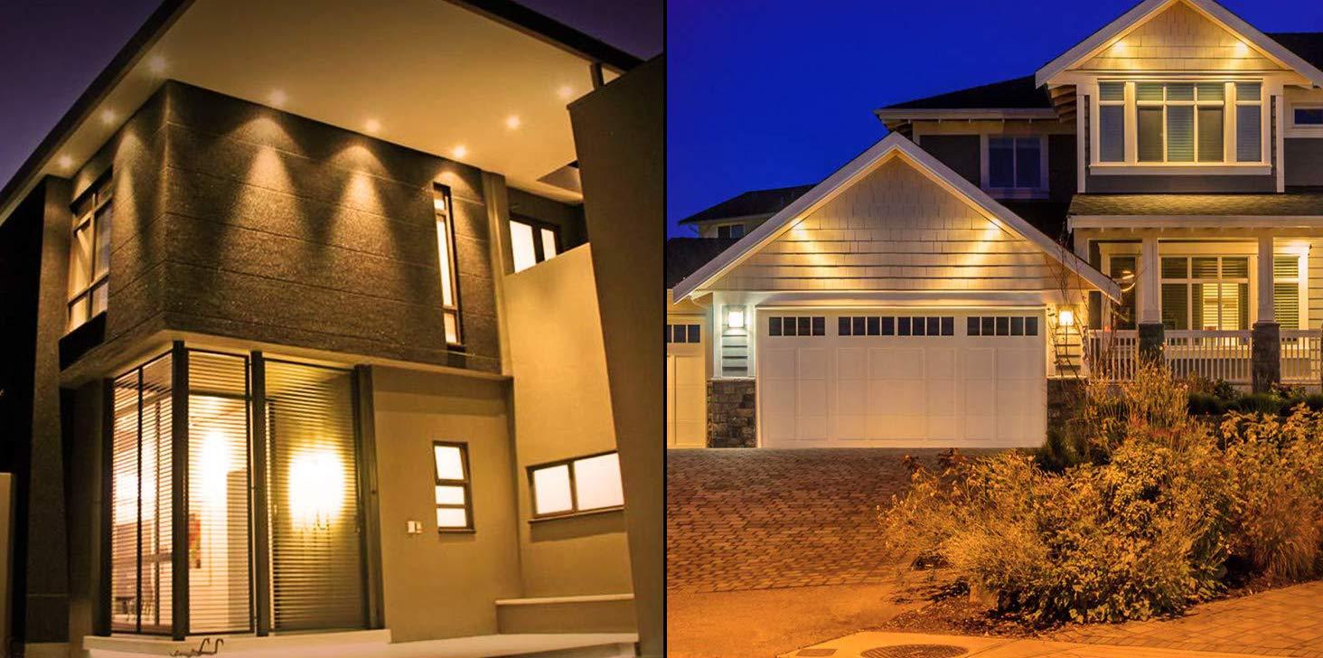 5W G5.3 LED Spotlight Equal to 50W Halogen Bulbs 3000K Warm White 400LM Spotlight for Landscape Accent Recessed Track Lighting Bulbs CTKcom MR16 LED Bulbs 110V~120V 6 Pack