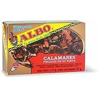 Albo - Calamares en su tinta, 112 g, Pack of 12
