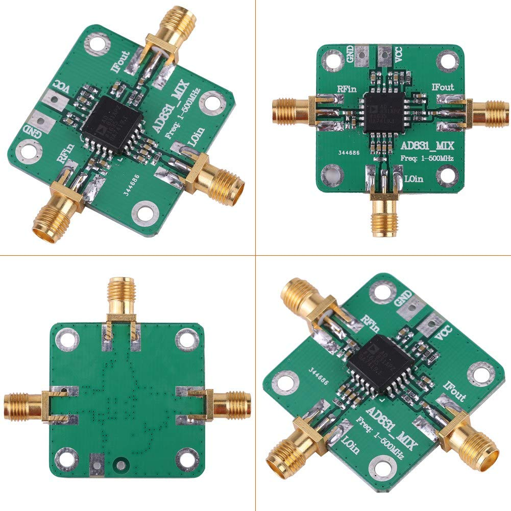 HiLetgo 0.1-500MHz AD831 High Frequency RF Mixer Drive Amplifier Module Board HF VHF//UHF