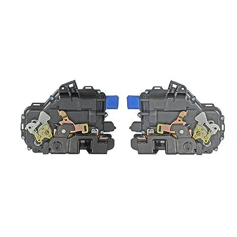 Par trasero izquierdo + derecho cerradura de la puerta del actuador 3b4839015ag, 3b4839015an, 3b4839016ag, 3b4839016an: Amazon.es: Coche y moto