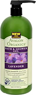 product image for Avalon Organics: Therapeutic Bath & Shower Gel, Lavender 32 oz (4 pack)