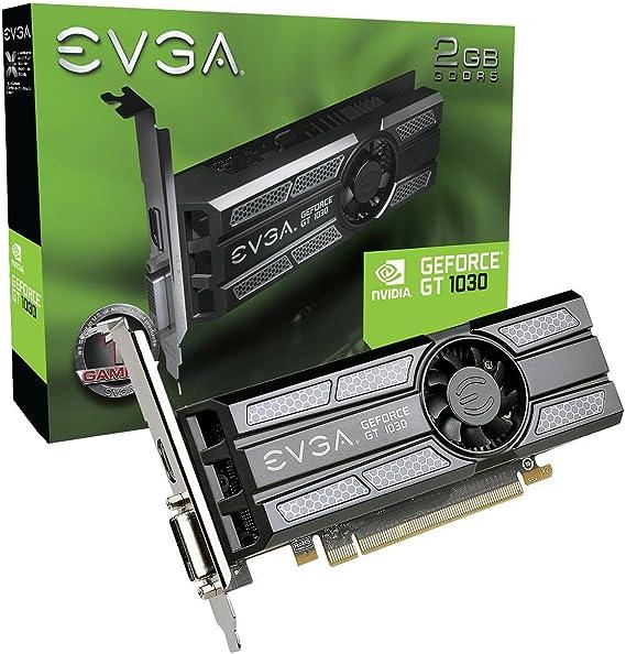 EVGA GeForce GT 1030 SC 2GB GDDR5 Low Profile Graphic Cards 02G-P4-6333-KR