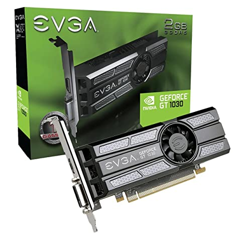 EVGA GeForce GT 1030 SC, 2GB GDDR5, Perfil Baixo, Placa de Video 02G-P4-6333-KR