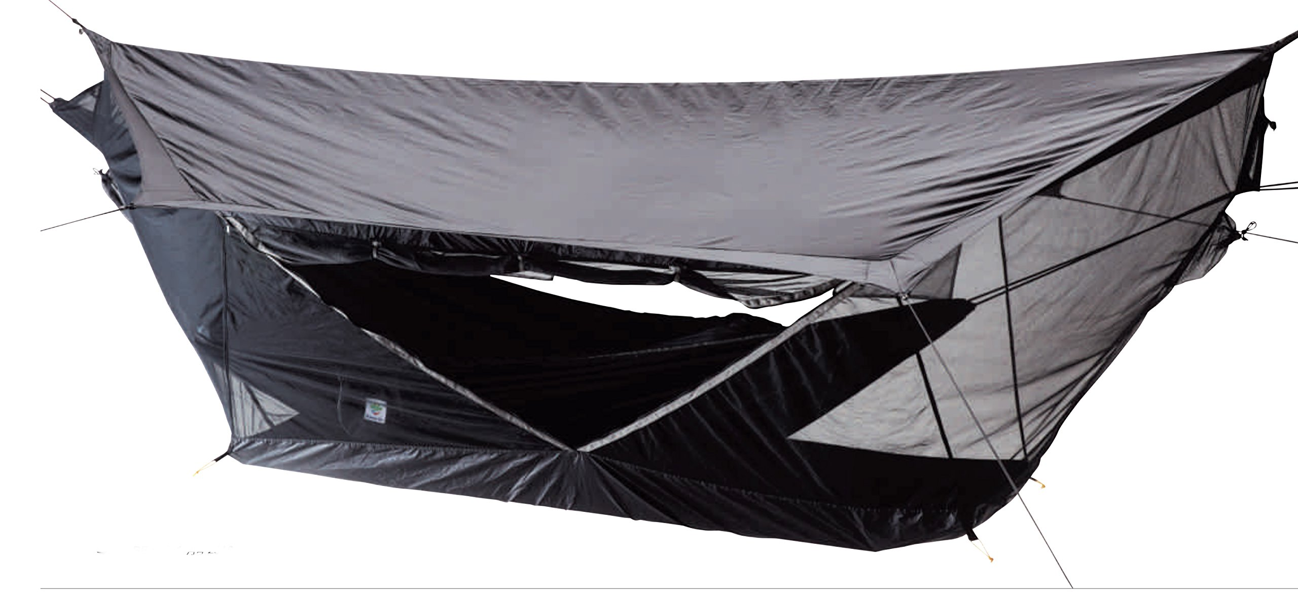 Hammock Bliss Sky Tent 2 - A Revolutionary 2 Person Hammock Tent - Waterproof and Bug Proof Hanging Tent Provides Spacious and Cozy Shelter For 2 Camping Hammocks - Embrace Hammock Camping Comfort by Hammock Bliss (Image #3)