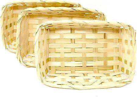 3 x 3er Set  Körbe rund  Körbchen Dekoration Korb Ostern Hochzeit