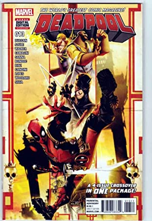 Amazon.com : Deadpool #13 (2016) Regular Francisco Herrera ...