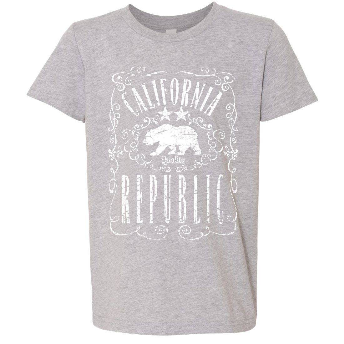 California Republic JD Whiskey Asst Colors Youth T-Shirt//tee